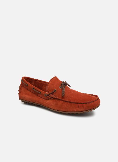 Mocassins Marvin&Co Staleys Orange vue détail/paire