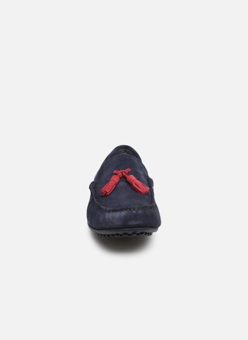 Mocassins Marvin&Co Stew Bleu vue portées chaussures
