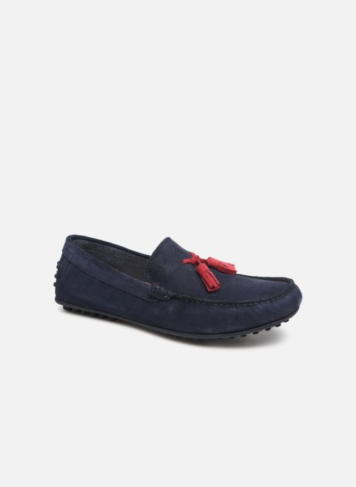 Mocassins Marvin&Co Stew Blauw detail