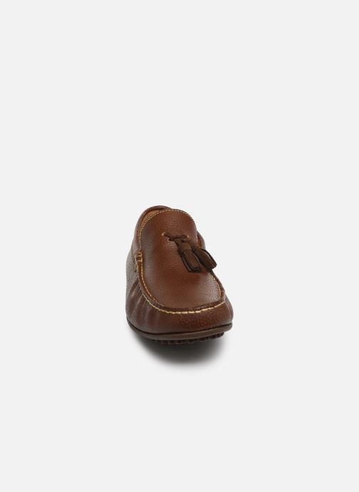Mocassins Marvin&Co Stew Marron vue portées chaussures
