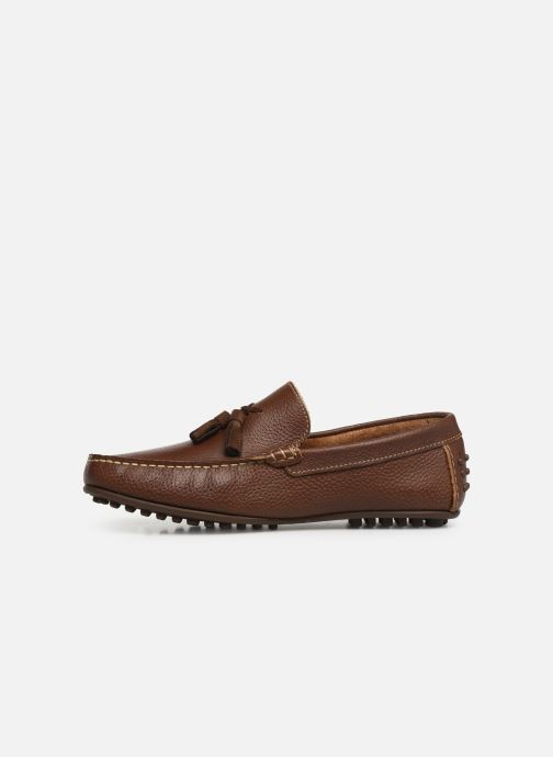 Loafers Marvin&co Stew Brown front view