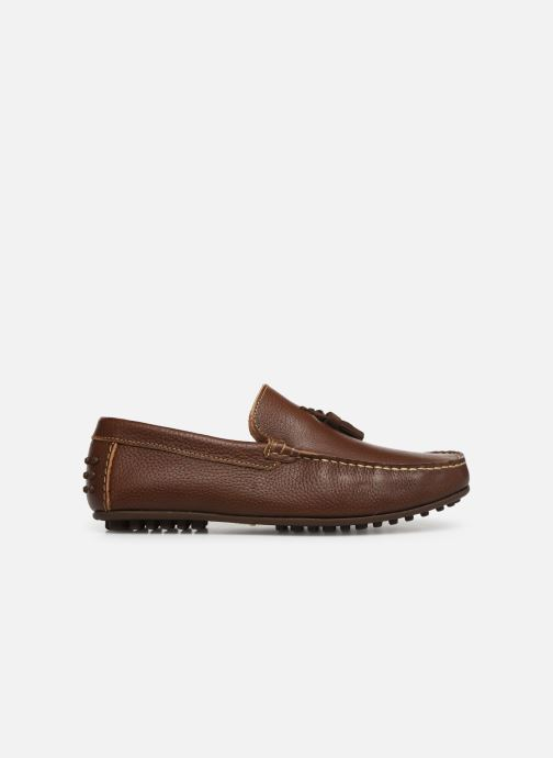 Mocassins Marvin&Co Stew Bruin achterkant