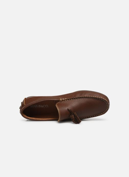 Loafers Marvin&co Stew Brown view from the left