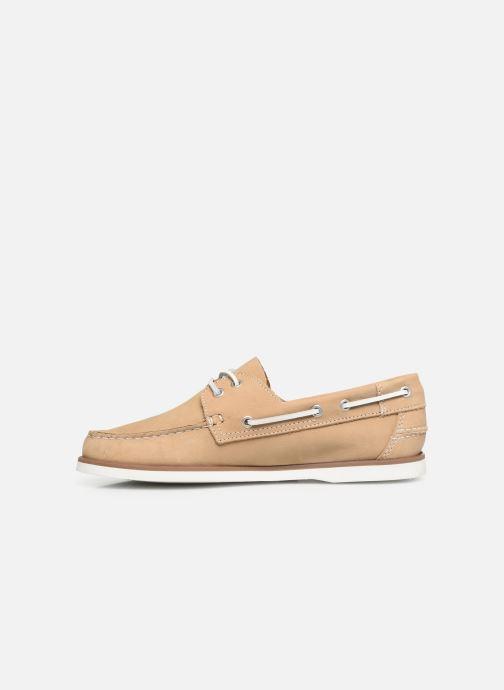 Chaussures à lacets Marvin&Co Satingh Marron vue face