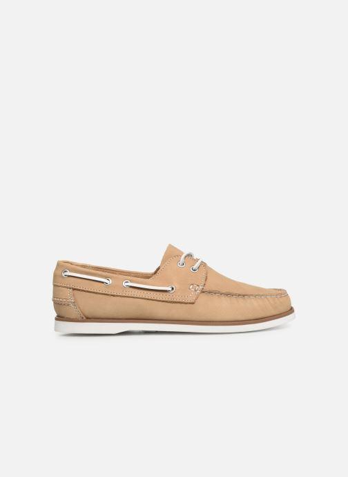 Zapatos con cordones Marvin&Co Satingh Marrón vistra trasera