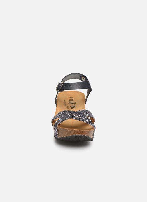 Sandales et nu-pieds Plakton So Final Gris vue portées chaussures