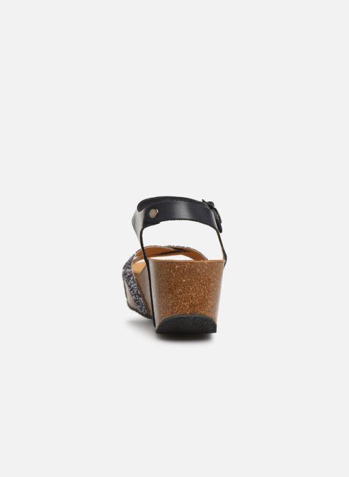 Sandales et nu-pieds Plakton So Final Gris vue droite