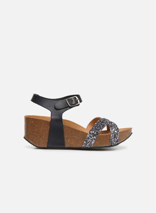 Sandales et nu-pieds Plakton So Final Gris vue derrière