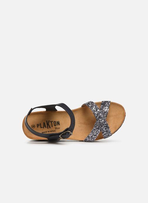 Sandales et nu-pieds Plakton So Final Gris vue gauche