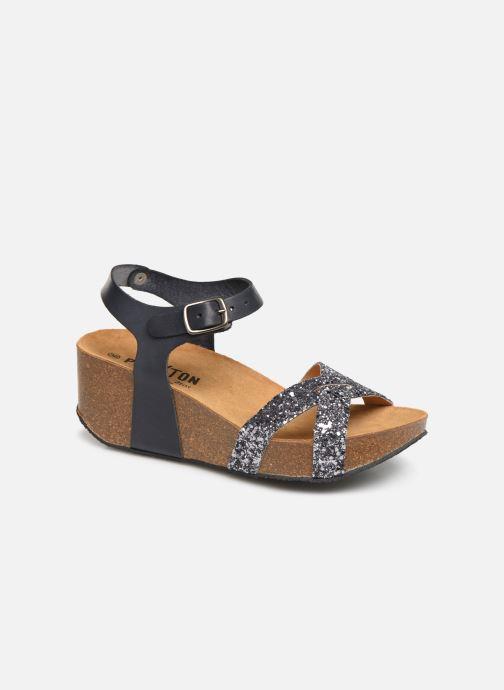 Sandales et nu-pieds Plakton So Final Gris vue détail/paire