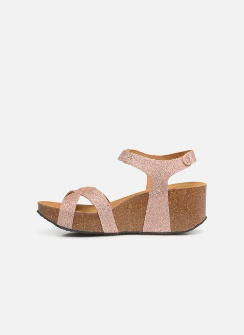 Sandales et nu-pieds Plakton So Final Rose vue face