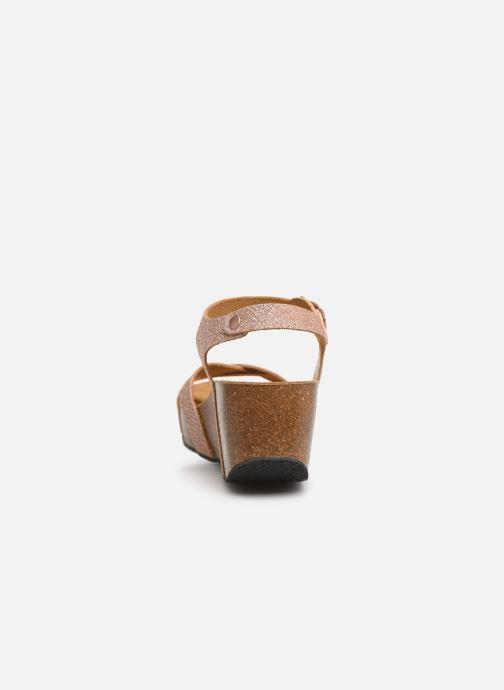 Sandales et nu-pieds Plakton So Final Rose vue droite