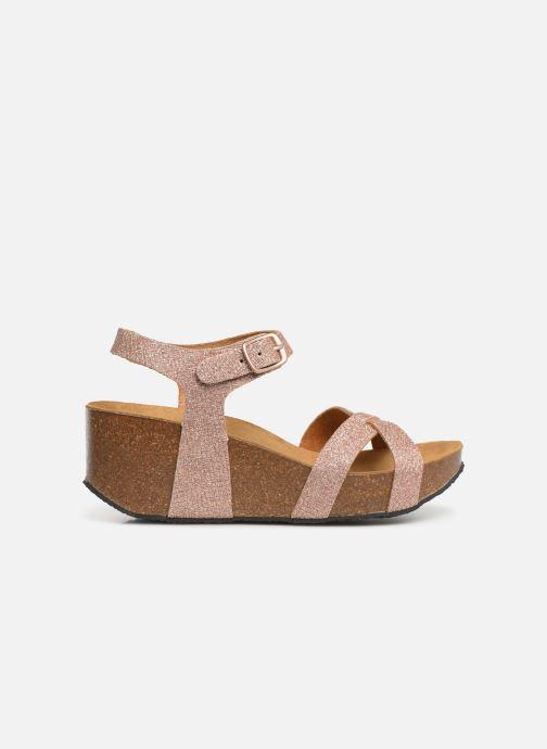 Sandales et nu-pieds Plakton So Final Rose vue derrière