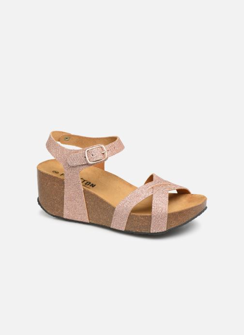 Sandales et nu-pieds Plakton So Final Rose vue détail/paire