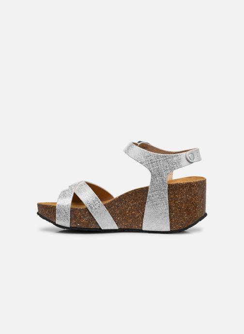 Sandales et nu-pieds Plakton So Final Blanc vue face