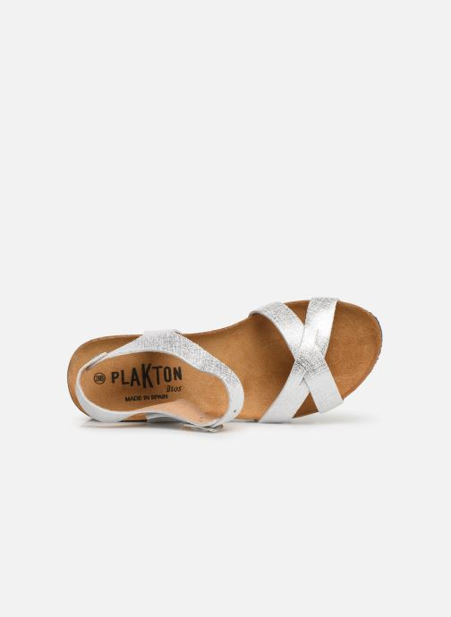 Sandales et nu-pieds Plakton So Final Blanc vue gauche