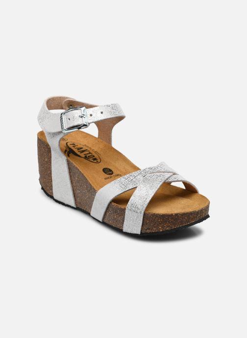 Sandales et nu-pieds Plakton So Final Blanc vue détail/paire