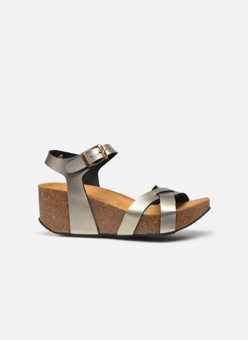 Sandales et nu-pieds Plakton So Final Argent vue derrière