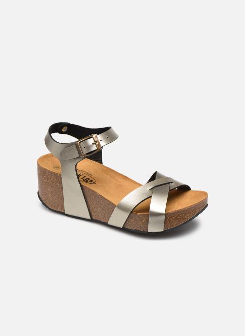 Sandales et nu-pieds Plakton So Final Argent vue détail/paire