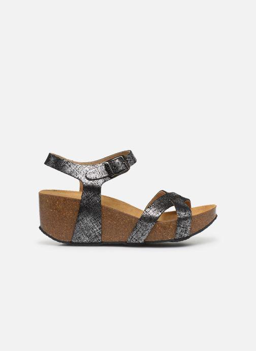 Sandales et nu-pieds Plakton So Final Noir vue derrière