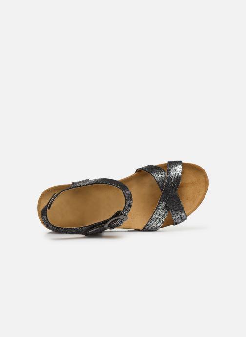 Sandales et nu-pieds Plakton So Final Noir vue gauche