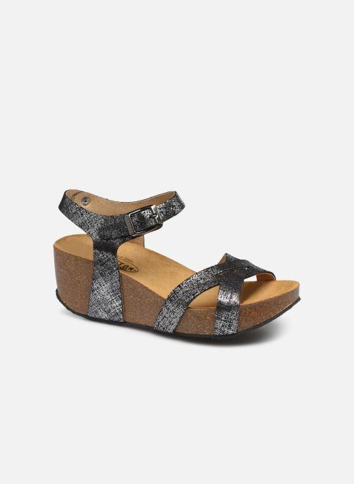 Sandales et nu-pieds Plakton So Final Noir vue détail/paire
