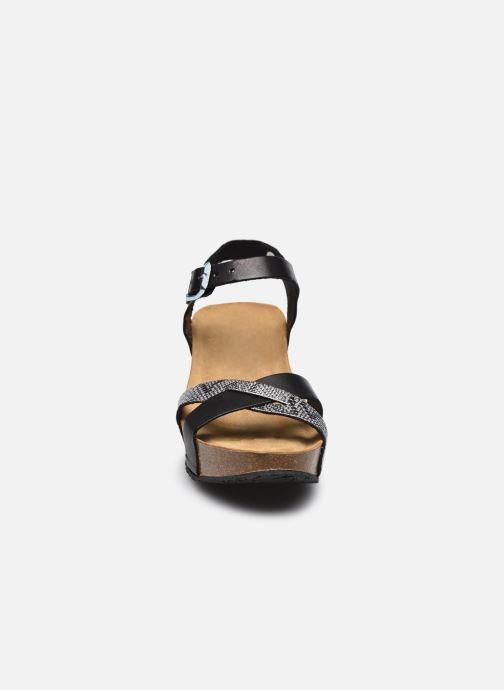 Sandalen Plakton So Final schwarz schuhe getragen