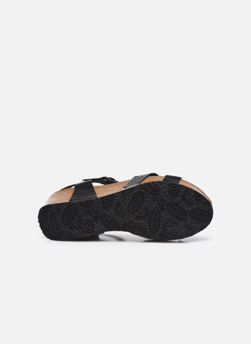 Sandalen Plakton So Final schwarz ansicht von oben