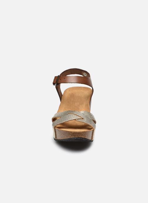 Sandalen Plakton So Final braun schuhe getragen