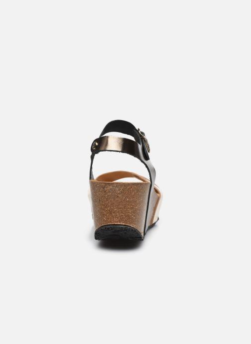 Sandales et nu-pieds Plakton So Final Argent vue droite