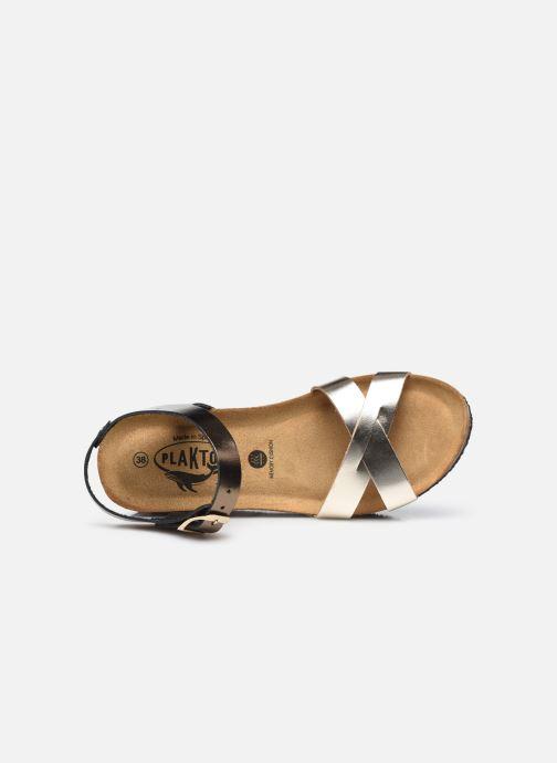 Sandales et nu-pieds Plakton So Final Argent vue gauche