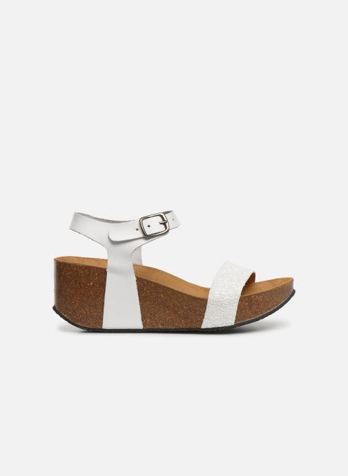 Sandales et nu-pieds Plakton So Kiss Blanc vue derrière