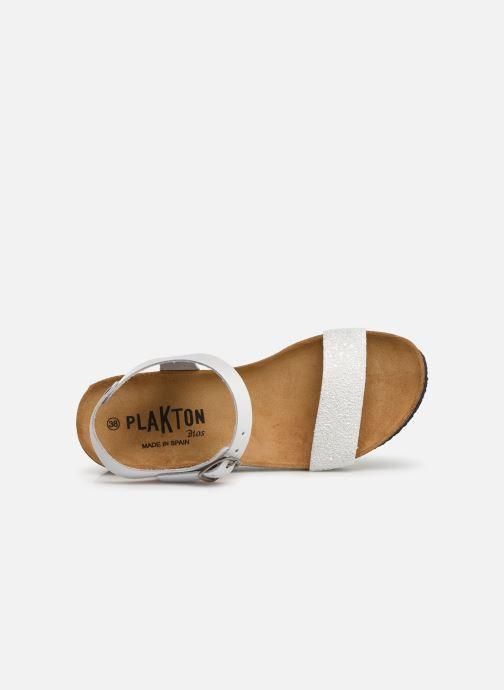 Sandales et nu-pieds Plakton So Kiss Blanc vue gauche
