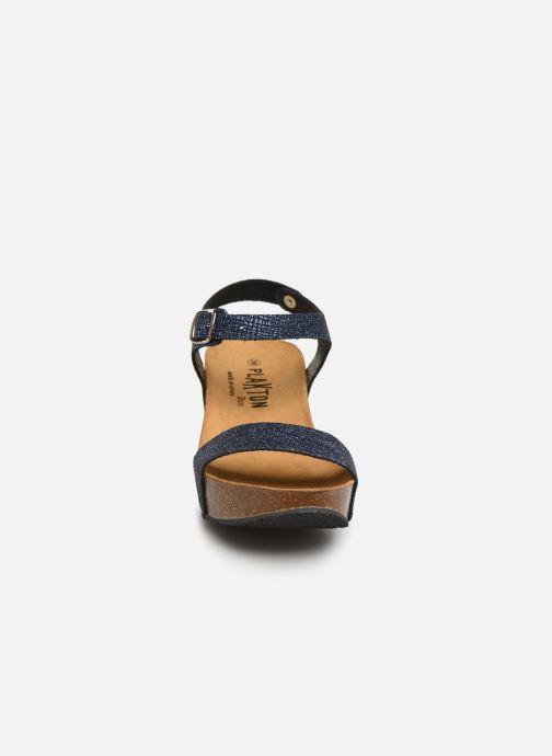 Sandales et nu-pieds Plakton So Kiss Bleu vue portées chaussures