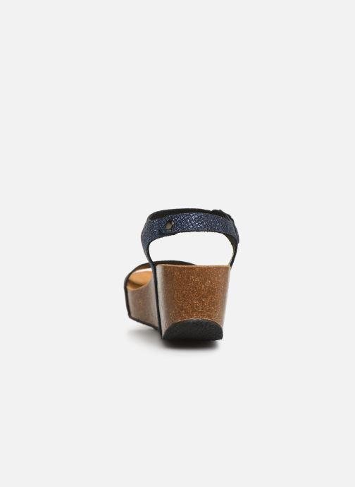 Sandales et nu-pieds Plakton So Kiss Bleu vue droite