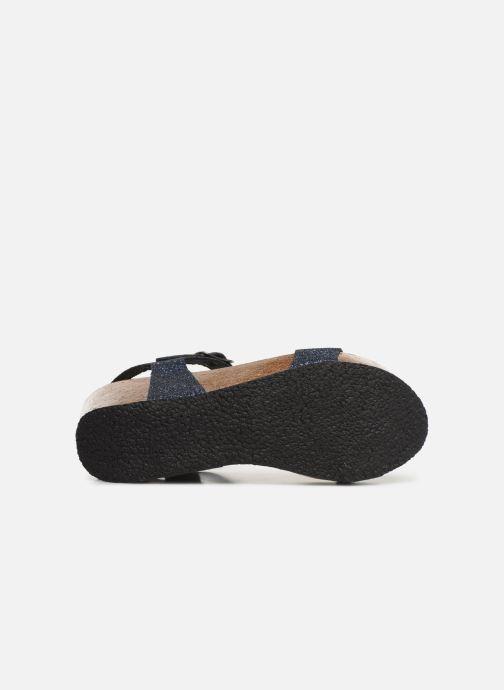 Sandales et nu-pieds Plakton So Kiss Bleu vue haut