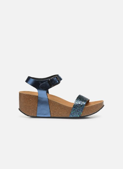 Sandales et nu-pieds Plakton So Kiss Bleu vue derrière