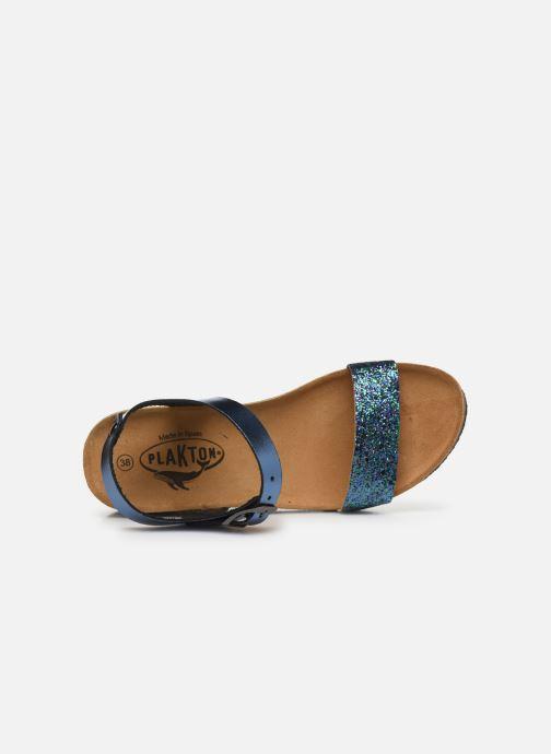 Sandales et nu-pieds Plakton So Kiss Bleu vue gauche