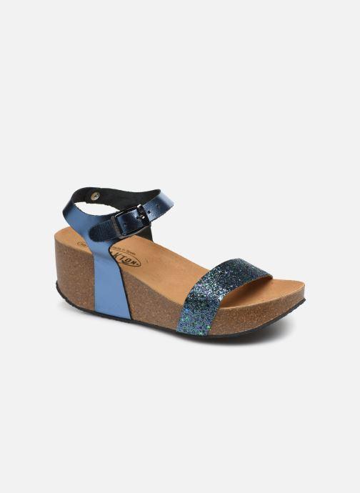 Sandales et nu-pieds Plakton So Kiss Bleu vue détail/paire