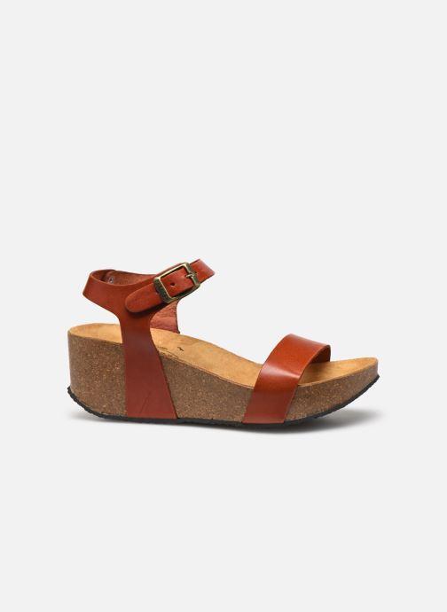 Sandales et nu-pieds Plakton So Kiss Marron vue derrière