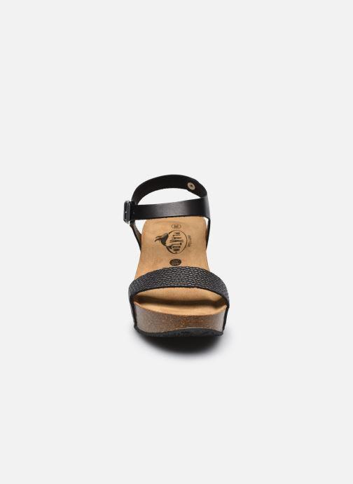 Sandalen Plakton So Kiss schwarz schuhe getragen