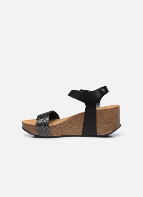 Sandalen Plakton So Kiss schwarz ansicht von vorne