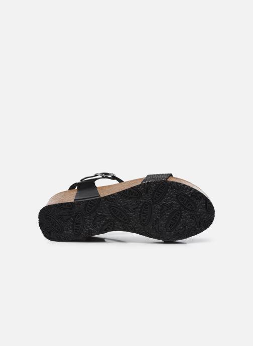 Sandalen Plakton So Kiss schwarz ansicht von oben