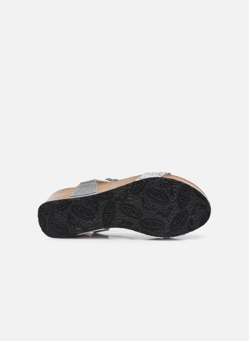 Sandalen Plakton So Kiss weiß ansicht von oben