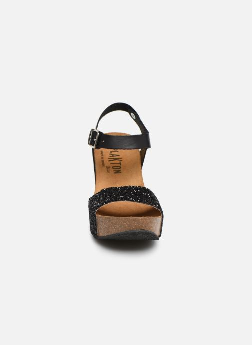 Sandales et nu-pieds Plakton I-Sound Noir vue portées chaussures