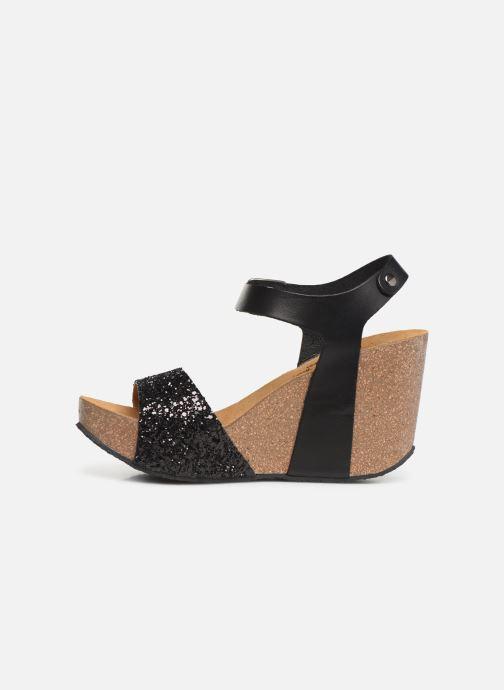 Sandales et nu-pieds Plakton I-Sound Noir vue face
