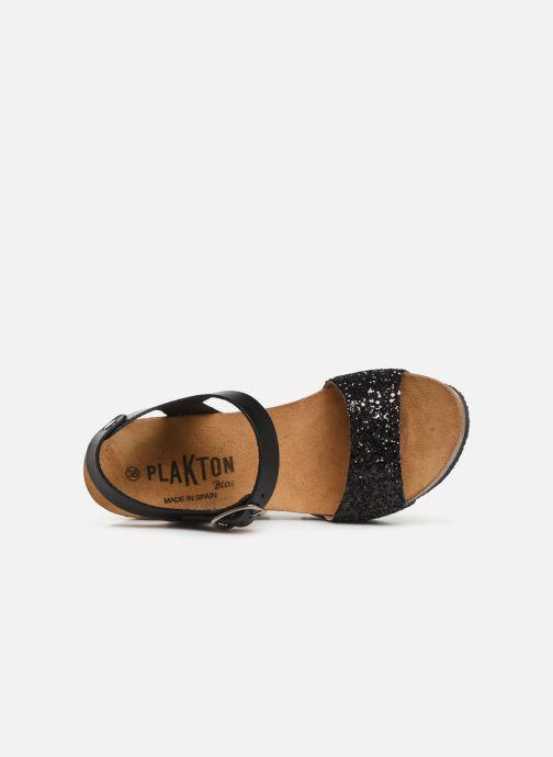 Sandales et nu-pieds Plakton I-Sound Noir vue gauche