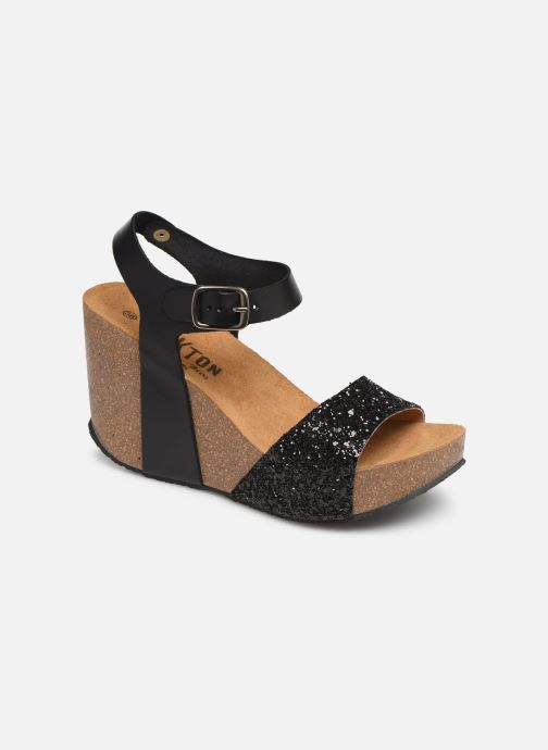 Sandales et nu-pieds Plakton I-Sound Noir vue détail/paire