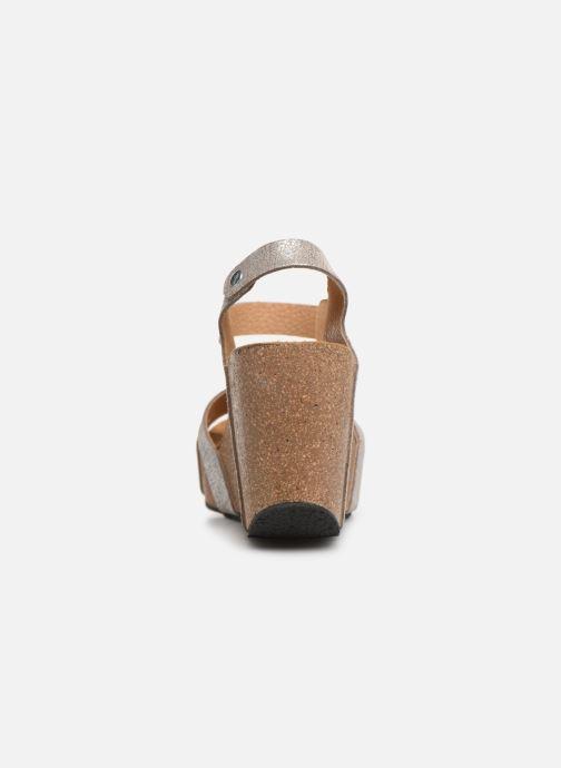 Sandales et nu-pieds Plakton I-Fine Argent vue droite