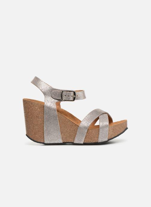 Sandales et nu-pieds Plakton I-Fine Argent vue derrière